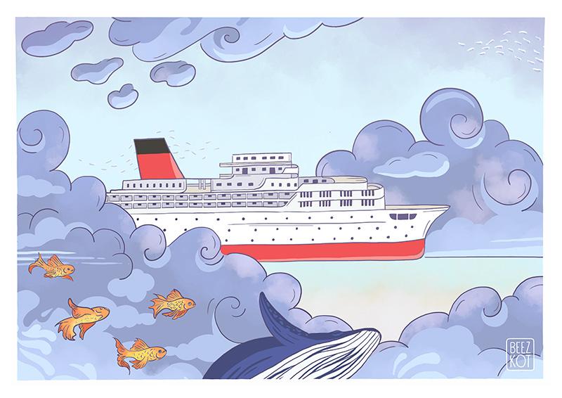 Le bateau dans le ciel - Flying boat