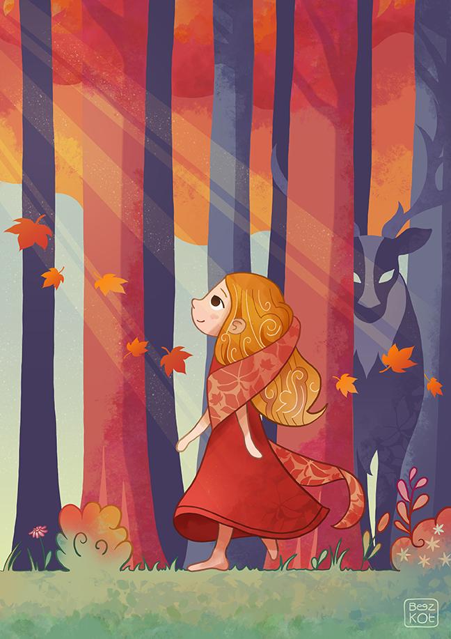 Autumn Girl - La jeune fille et l'automne