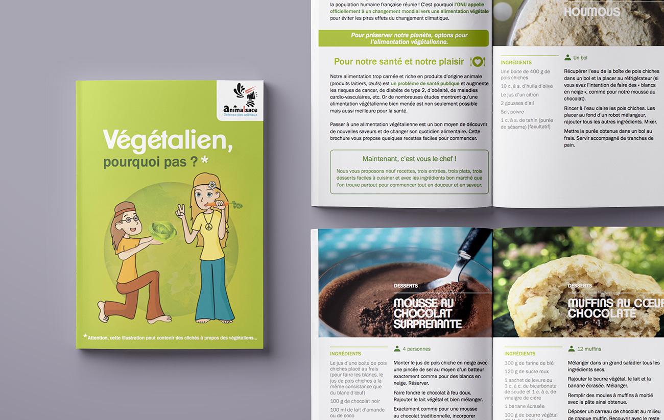 Magazine Recettes végétaliennes - Vegan recipes