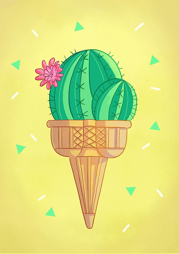 glace cactus